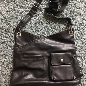 Franco Sarto Black Crossbody